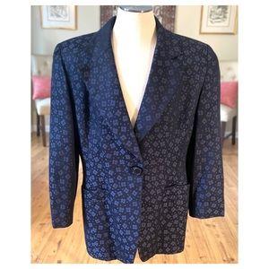 Christian Dior Embroidered Floral Blue Blazer!😍